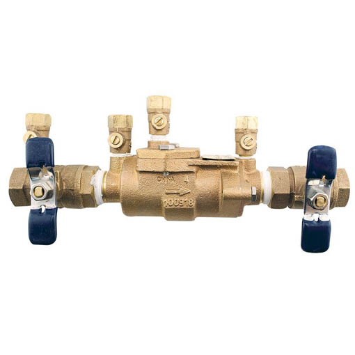 double check valve for cross connection